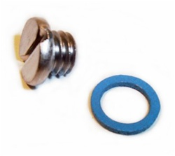GEARCASE DRAIN SCREW WITH GASKET