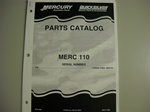 PARTS MANUAL - MERC 110 (DOWNLOAD ONLY)