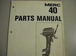 PARTS MANUAL - MERC 40 (DOWNLOAD ONLY)