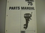 PARTS MANUAL - MERC 75 (DOWNLOAD ONLY)