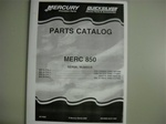 PARTS MANUAL - MERC 850 (DOWNLOAD ONLY)