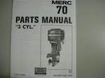 PARTS MANUAL - MERC 700 (DOWNLOAD ONLY)