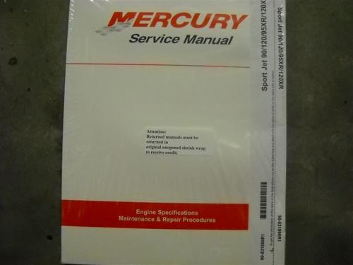 mercury sport jet 120 120xr service manual
