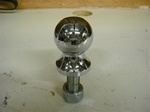 "CHROME PLATED BALL 2"" X 3/4"" CLASS 2 LONG"