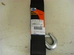 HEAVY DUTY WINCH STRAP W/HOOK 15'