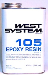 West System 105 Eoxy Resin - quart