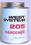 West System 205 Fast Hardener - pint