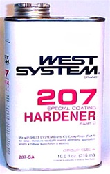 West System 207 Special Coating Hardener - gallon
